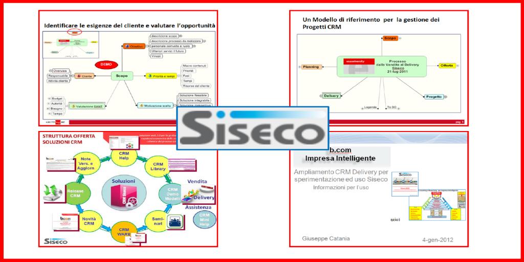 Siseco.it | CRM | Cons. PjM  | 2010-on | GUARDA
