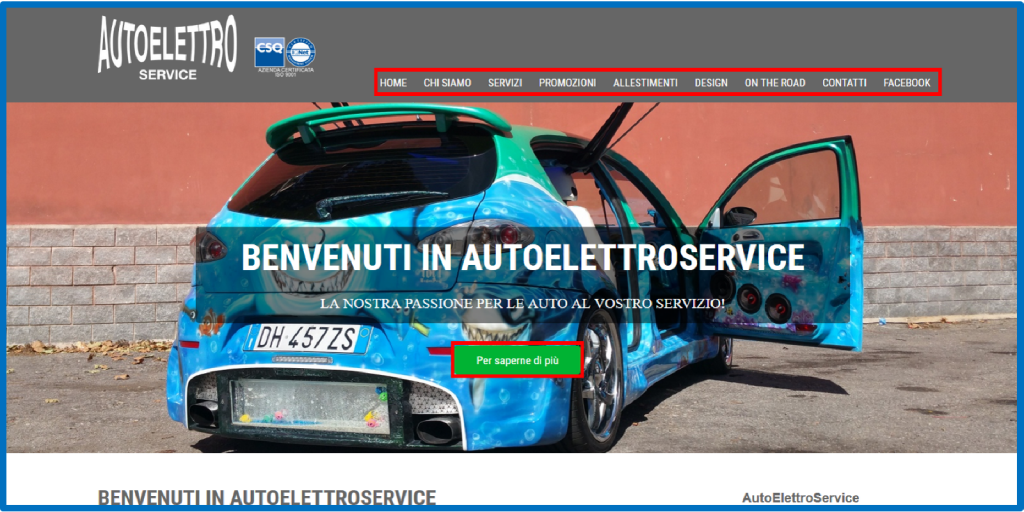 AutoElettroService.it | Vetrina | Web | 2016 | GUARDA