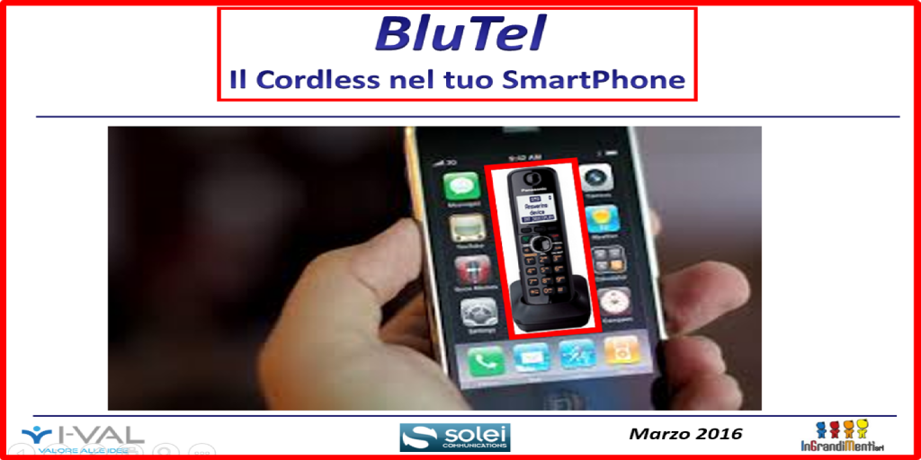 Solei.it | Ideazione BluTel | Cons. BD | 2016-On | GUARDA