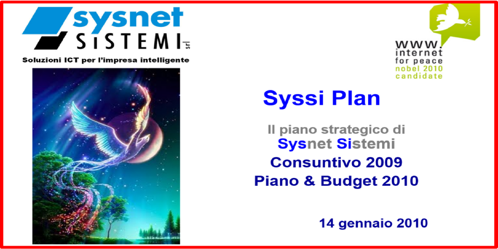 Sysnet.it | Click to Call | Cons. TM | 2009-2010 | GUARDA