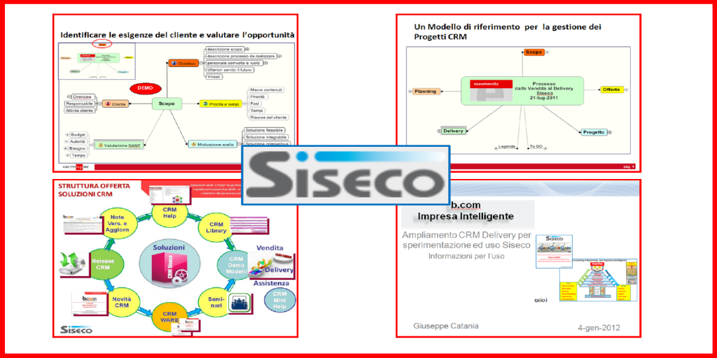 Siseco.it | CRM | Cons. PjM  | 2010-on | GUARDA