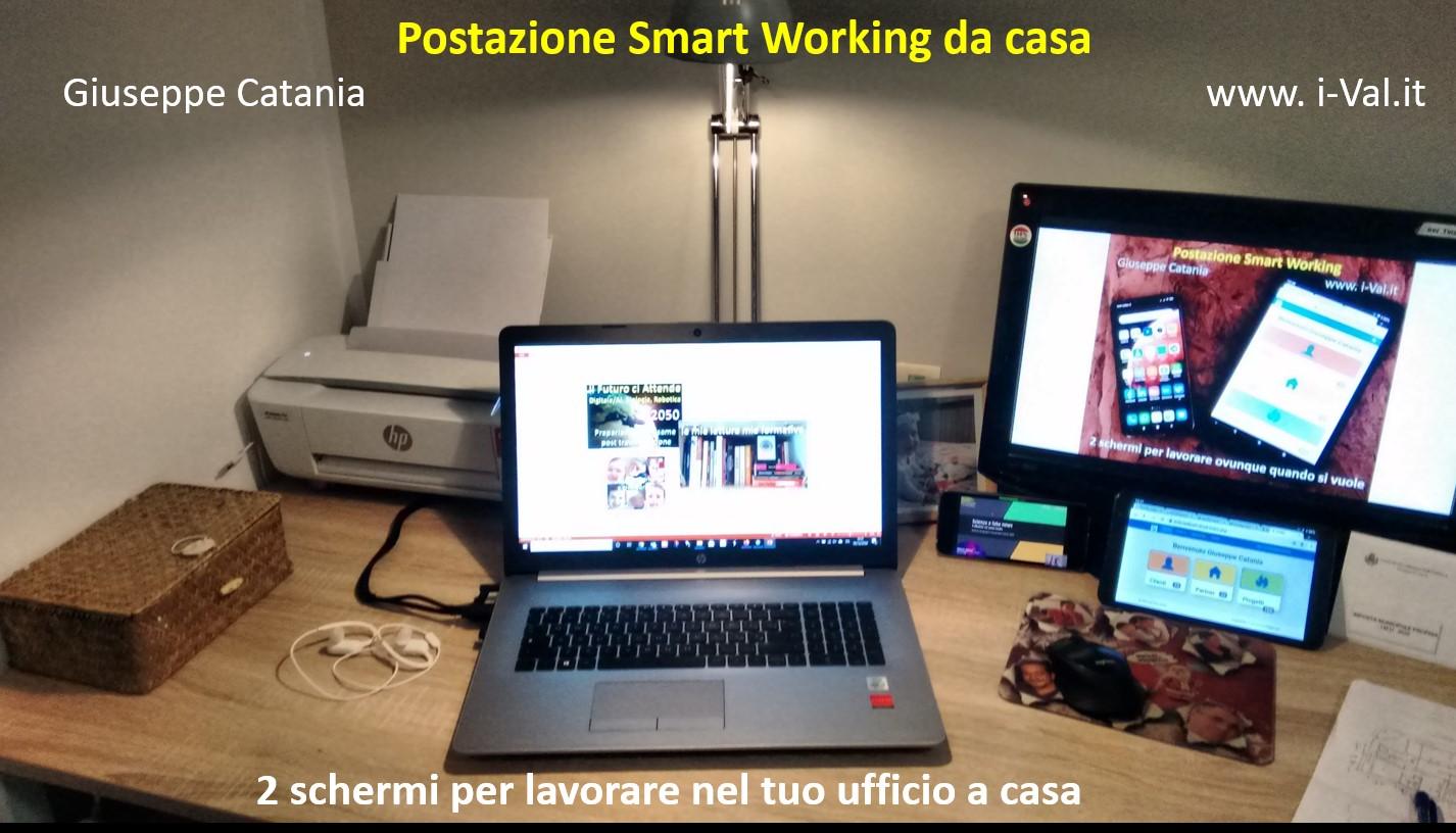 Smart working- postazione fissa