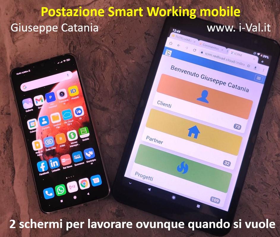 Smart Working - Postazione mobile